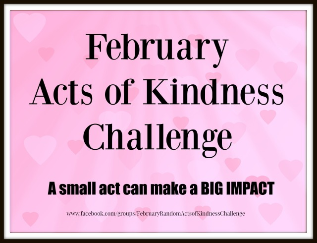 February Acts of Kindness Challenge promo